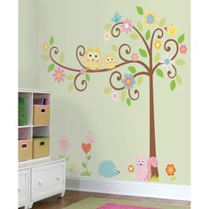 Home Interior, Adding Kids Wall Painting into the Kids Room: Cute Kids Wall Painting