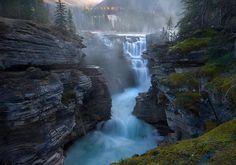 Maligne Canyon. Jasper National Park, Canada