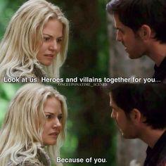 "Hook and Emma - 5 * 1 ""Dark Swan "" #CaptainSwan"