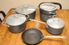 10pc Wagner Ware Magnalite Professional Cookware Stock Sauce Pots Pan Dutch Oven | eBay