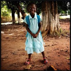 First day of school for Memona, Bolama, Guinea-Bissau