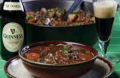 Un menu irlandese per ogni occasione...dal muschio stufato, allo stufato e i cones alla Guinness