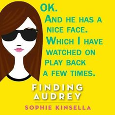 Finding Audrey by Sophie Kinsella Finding Audrey, Video Film, Interesting Faces, Video Games, Films, Magic, Reading, Books, Movies