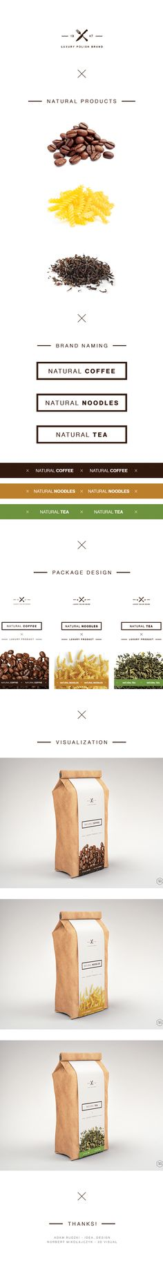 Natural Series Package by Adam Rudzki, via #Behance #Packaging #Branding