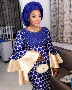 Best Afro Fusion Ankara Styles: See The Latest Trends - Wedding Digest Naija Nigerian Lace Styles, African Lace Styles, Ankara Styles For Women, Ankara Gown Styles, Ankara Gowns, African Style, African Attire, African Wear, African Fashion Dresses