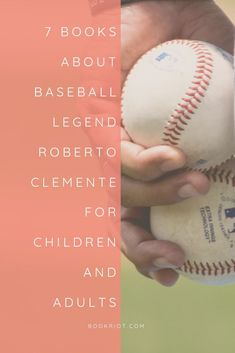 These 7 books for children and adults recall the baseball legend Roberto Clemente.   book lists | baseball books | baseball books for children | baseball books for adults | books about roberto clemente