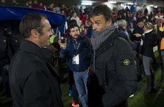 Luis Enrique elogia la intensidad del Barça