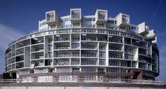 KNSM eiland Amsterdam , Jo Coenen, Dutch architect,  b 1949