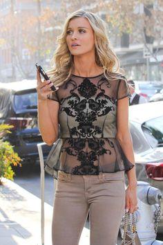 Joanna Krupa street style