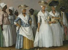 18th century carribean women