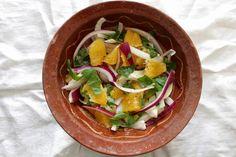 Maustemittakaava: Raikkautta pääruoan oheen - Fenkoli-appelsiinisalaatti