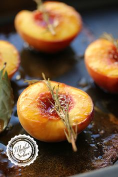 Baked Peach Dessert with Honey Easy Dinner Recipes, Pasta Recipes, Snack Recipes, Dessert Recipes, Easy Meals, Cooking Recipes, Desserts, Holy Cow Cakes, Honey Dessert