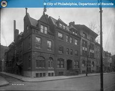 PhillyHistory.org - Perspective of NE corner of Locust Camac Sts