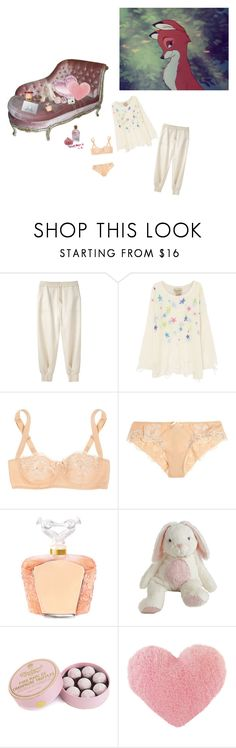 """""""Untitled #344"""" by ew99 ❤ liked on Polyvore featuring Band of Outsiders, Wildfox, Dolce&Gabbana, Lalique, H&M, Charbonnel et Walker, Fujifilm and Humör"""