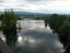 Storelva river view from train station---- amazing...andrea mariani
