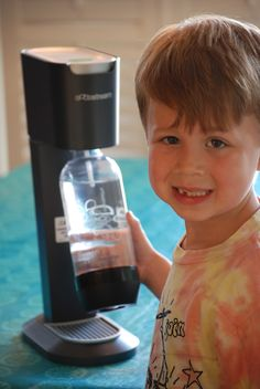 ace and friends co.: Summer With The Kids Guide: SodaStream System {Review & Giveaway}