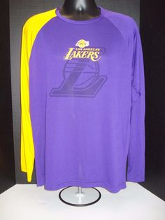 ee26270c Details about Los Angeles Lakers Lightweight Player Shootaround Shirt - NWT