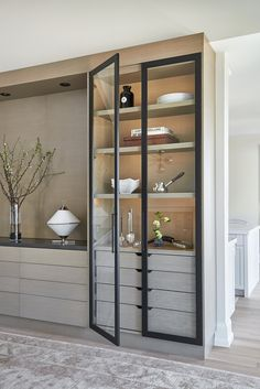 Built in, Millwork — Rachel Deeks Design Kitchen Interior, Home Interior Design, Crockery Cabinet, Built In Buffet, Living Room Cabinets, Built In Cabinets, Built In Bar Cabinet, Cupboards, Dining Room Design