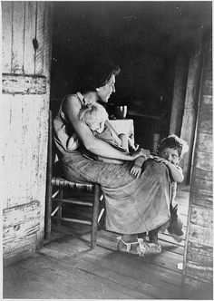 lily rogers fields & children. hale, alabama, summer 1936 - photo walker evans. we have so much...
