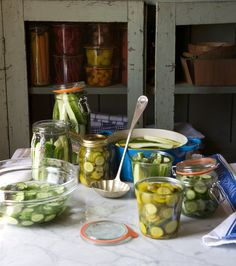 Weekend Project: Bread and Butter Pickles