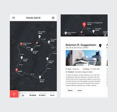 Travel Mobile Service UI on Behance Mobile Web Design, App Ui Design, Flat Design, Interface Design, Design Design, Application Mobile, Application Design, Design Thinking, Logo Samples