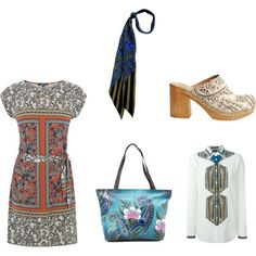paisley by rainbowsoul91 on Polyvore featuring Warehouse, Etro, Penelope Chilvers and Anuschka
