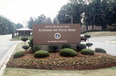 Andrews Air Force Base, MD.  My dad was a colonel in the USAF.  After living in Madrid for four years, he was transferred here in 1959.  I was born at Andrews the following year.  Our entire family spent lots of time at Andrews going to church at Chapels number 1&2, shopping at the base exchange (BX) and of course, my favorite place, The Officer's Club.