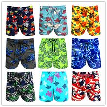 2e775cc10a Summer season 2019 Model BREVILE PULLQUIN Turtle Seaside Board Quick Males  Swimwear Elastic Band Vilebre Horny