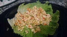 Bimby Truques & Dicas: Wraps de alface com recheio de frango - Dieta dos 31 dias.