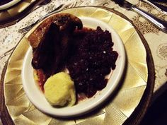 {Edith genießt! Rezepte für's Leben ...}: Weihnachtlicher Entenbraten an Rotkraut, Knödel un... Kraut, Pancakes, Pudding, Breakfast, Desserts, Food, Cooking, Life, Christmas