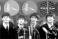 On Friday, February 7, 1964, rock n roll's British invasion began when The Beatles arrived at the newly named JFK Airport in NYC on Pan Am Flight 101. Thousands of screaming fans clogged every inch of the airport and terminal to get the first glimpse of them coming off the plane.   The aircraft was a Boeing 707-331, tail number N704PA, Pan Am's Clipper Defiance.