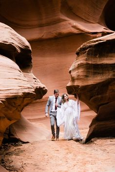 Curious about an Antelope Canyon Wedding? This slot canyon elopement in Page, Arizona is the perfect inspiration for your antelope canyon wedding dreams! Slot Canyon, Intimate Weddings, Best Artist, Natural Wonders, Antelope Canyon, Cool Things To Make, Wedding Dreams, Dream Wedding
