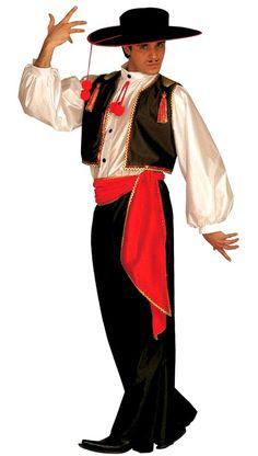 déguisement mexicain adulte , danseur mexicain