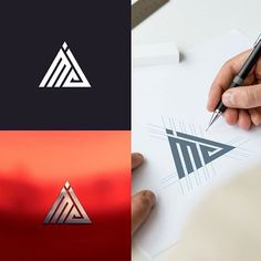 by Contact us if you need an awesome design . L Logo, Logo Branding, Branding Design, Web Design, Icon Design, Graphic Design, Corporate Design, Visual Communication Design, Logo Process