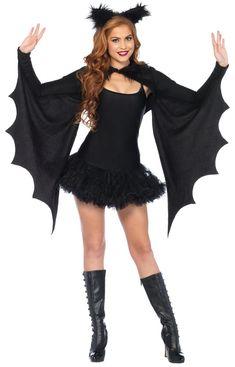 Leg Avenue Cozy vleermuizen vleugels bolero en haarband zwart - Kostuum Party Halloween - One size - Leg Avenue Halloween Accessories, Costume Accessories, Hair Accessories, Bat Costume Womens, Adult Costumes, Costumes For Women, Party Costumes, Diy Costumes, Cosplay Costumes
