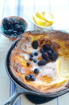 Dutch pancake | 23 Mouthwatering Examples Of Skillet Porn