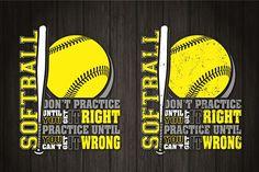 Softball Logos, Softball Tshirts, Softball Crafts, Softball Quotes, Girls Softball, Fastpitch Softball, Softball Shirt Ideas, Softball Cheers, Softball Pitching
