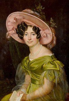 Zinaida Nikolaevna Volkonskaya by Orest Kiprensky,1829