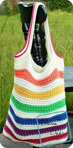 Diana Tote Bag By Divine Debris - Free Crochet Pattern - (ravelry)*