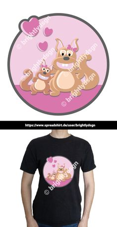 Get this cute illustrated squirrel design on various shirts, hoodies and other accessories - for kids, babies and people with a yound mind! Great gift for new siblings - girls and boys! Shirt Designs, New Sibling, Animal Fashion, Typography Prints, Siblings, Squirrel, Boys, Girls, Best Friends