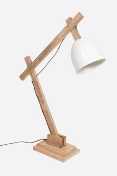Desk Lamp - White