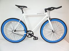 [New Arrival]  http://fixiecycles.com/shop//bikes-bikes/white-and-blue-fixie-with-bullhorns-single-speed-urban-fixie-with-flip-flop-hub-by-sgvbicycles-fixies/  -  White and Blue Fixie with Bullhorns Single Speed Urban Fixie with Flip Flop Hub By Sgvbicycles Fixies #fixie