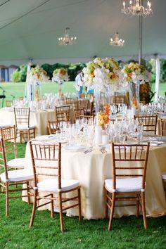 """An Elegant Island Celebration"" | real wedding inspiration from Nichole Weddings & Ryan Phillips Photography via AislePlanner.com"