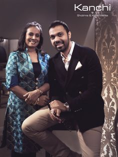 Here is to the Designers behind Kanchi - Shobhna Mehta & Kunal Mehta. This mother-son duo, have successfully set up a manufacturing base for weaving high end furnishing fabrics and exclusive furniture. Right from designing homes to large scale commercial projects in India and abroad, their experiences ranges from Luxury Hotels, Residences, and Bungalows in residential and hospitality industry. #bykanchi #luxuryfurniture #luxuryfabrics #HomeDecor #MaisonEtObjet  #luxe… Yacht Design, Mother Son, Luxury Hotels, Bungalows, Ranges, Hospitality, Bespoke, Scale, Commercial