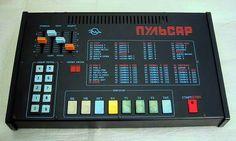 Pulsar - soviet drum machine