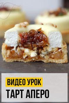 Изысканная закуска, которую вы можете приготовить самостоятельно ― потрясающий тарт «Аперо». Да, это нечто… Успех на вечеринке, фуршете и дружеских посиделках ему гарантирован. А ещё на именинном столе и праздничном корпоративе — кто же откажется от стильной вкуснятины?  Polish Cake Recipe, Trifle, Confectionery, Tart, Cake Recipes, Food And Drink, Ice Cream, Cupcakes, Candy