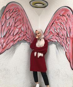 Week End Hijab Fashion Cute Pemuja Wanita Tesettür Mayo Şort Modelleri 2020 Hijab Fashion Summer, Muslim Fashion, Modest Fashion, Fashion Outfits, Fall Fashion, Hijabi Girl, Girl Hijab, Hijab Outfit, Muslim Girls