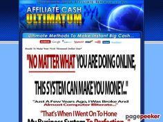 Paul Walker's Affiliate Cash Utimatum - Easiest and Fastest Way To make  Money Online