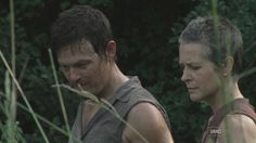 Daryl & Carol at the pond  [ The Walking Dead ]