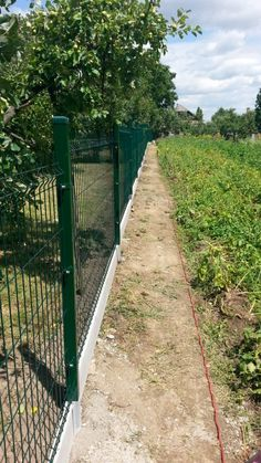 Fence Wall Design, Farm Fence, Paradis, Gate, Sidewalk, House Design, Coin, Fencing, Architecture